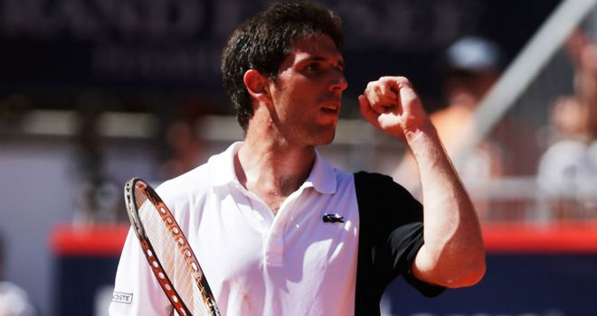Federico Delbonis: The Argentine continued his good form by knocking out Thomaz Bellucci