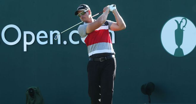 Henrik Stenson: Enjoying being back in contention at a major