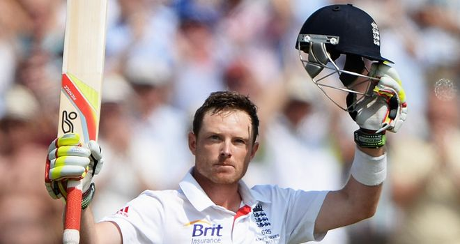 Ian Bell: rescued England in second innings at Trent Bridge