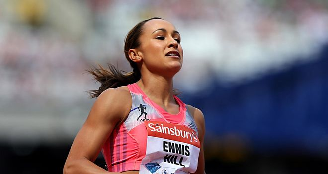 Jessica Ennis-Hill: Recovering from Achilles injury
