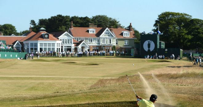 Muirfield: One of three male-only clubs on the Open rota