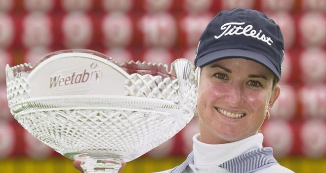 Karrie Webb: Won her only Open title at Turnberry in 2002