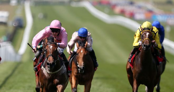 Lucky Kristale (pink): 20/1 for 1000 Guineas with Sky Bet
