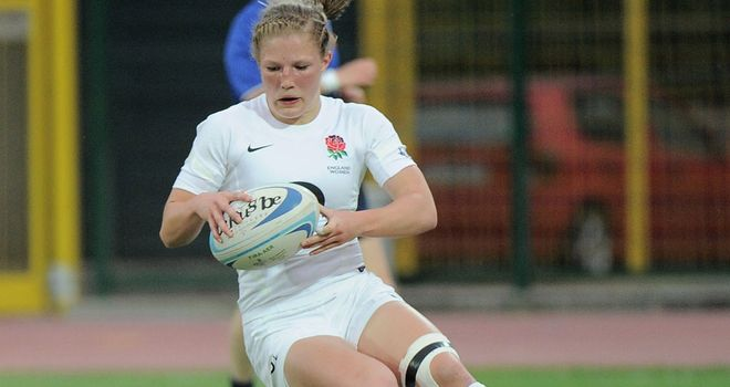 Lydia Thompson: Scored a try in the defeat