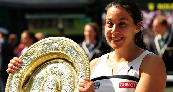 Marion Bartoli: Wimbledon champion out of Stanford