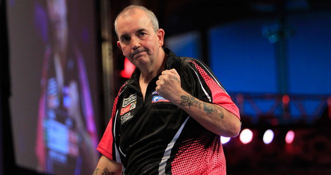 Phil Taylor: Nine-darter in winning opening Championship League
