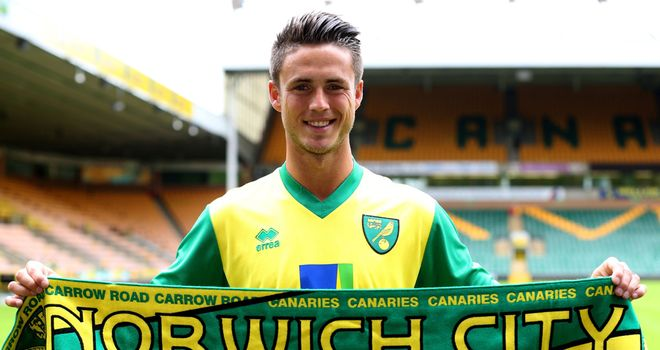 Ricky van Wolfswinkel: Played 45 minutes for the Canaries