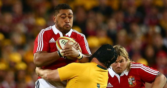 Toby Faletau: Lions hero not yet fit enough for Dragons