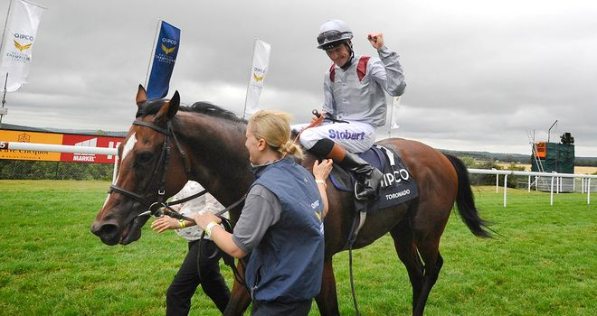 Toronado: Carries plenty of stable confidence into the Queen Anne Stakes