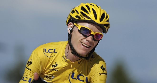 Chris Froome has all but wrapped up his first Tour de France win