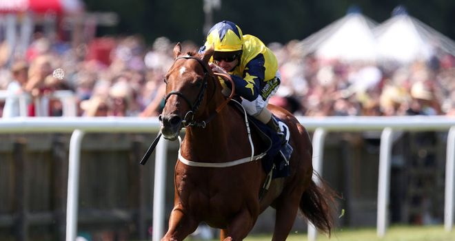 Universal wins the Princess of Wales's Stakes