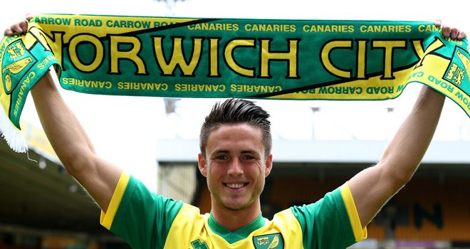 Ricky van Wolfswinkel: New face at Norwich this summer
