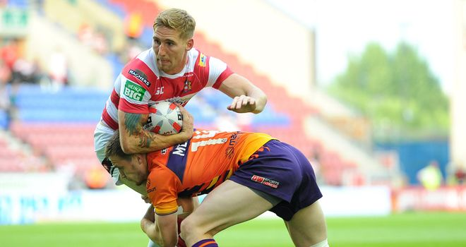 Sam Tomkins: Insists the Wigan Warriors will not underestimate the London Broncos in Saturday's meeting