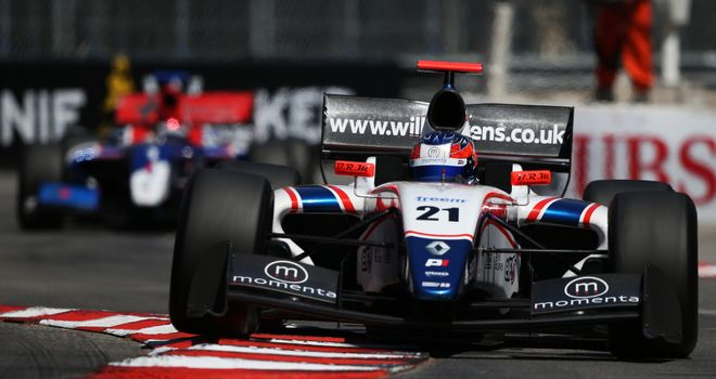 Will Stevens: Steps up from Formula Renault 3.5 to F1