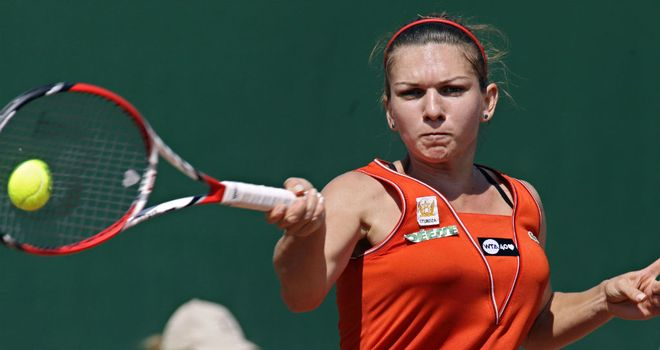 Yvonne Meusburger: The home favourite will be eyeing her first career title
