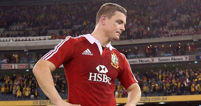 Brian O'Driscoll: Omitted from Warren Gatland's match-day squad for third Test