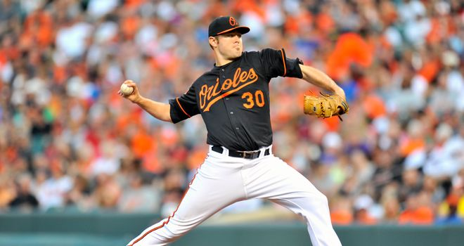 Chris Tillman: Baltimore Orioles pitcher stifled Boston Red Sox at Camden Yards