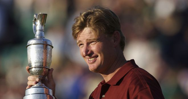 Els: won the last Open Championship at Muirfield, in 2002