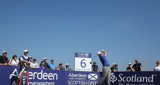 Ernie Els: Open champion misses Scottish Open cut