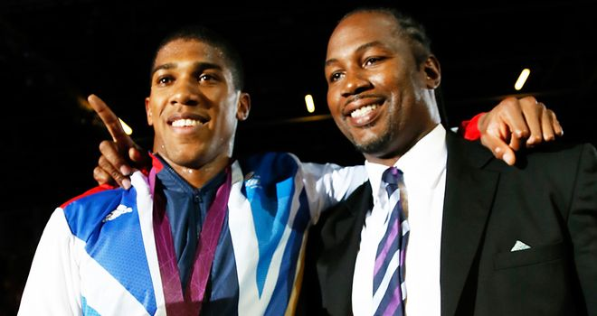 Anthony Joshua: Keen to work with Lennox Lewis