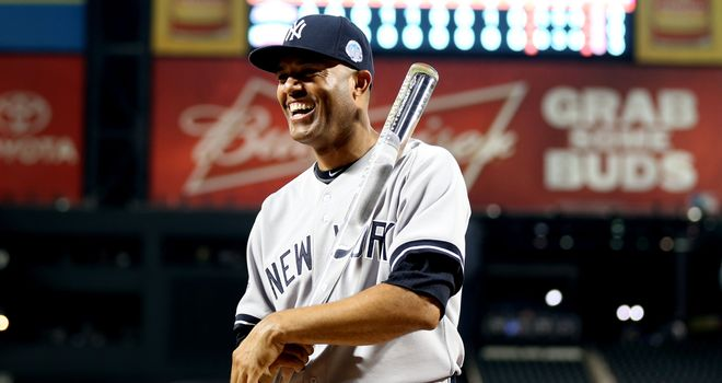 Mariano Rivera: New York Yankees' American League pitcher claimed the MVP award in Tuesday's 3-0 victory