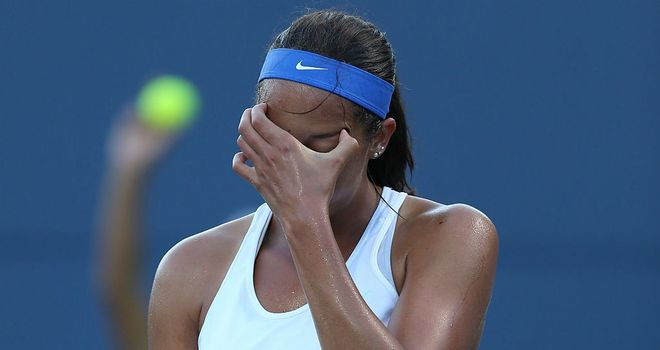 Madison Keys: Crashed out the Bank of the West Classic