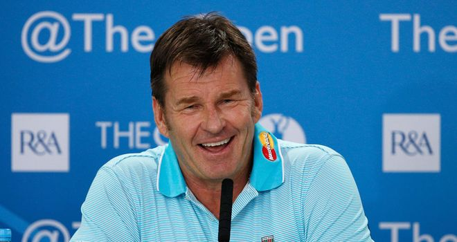 Nick Faldo: Looking forward to returning to the Muirfield links