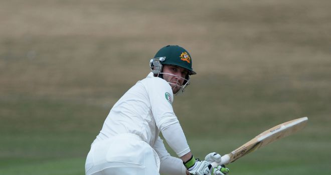 Phil Hughes: Made 84 against Sussex on Friday