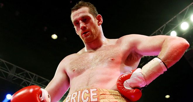 David Price: Had 15 straight wins before suffering back-to-back defeats against Tony Thompson