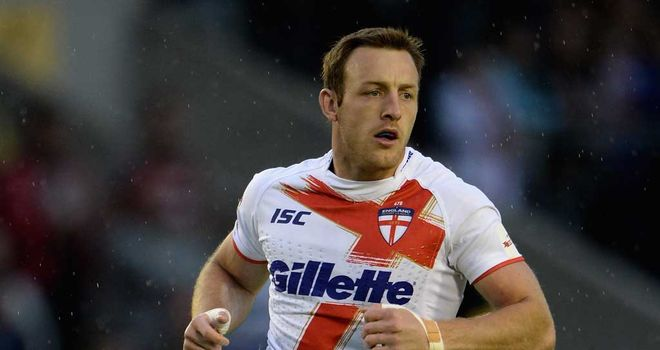 James Roby: Has not played for St Helens since July
