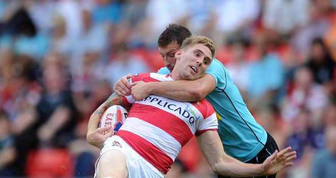 Sam Tomkins: Attracted by the NRL competition
