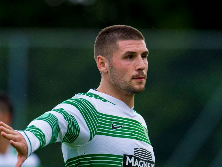 Gary Hooper: Not in the squad for Cliftonville qualifier