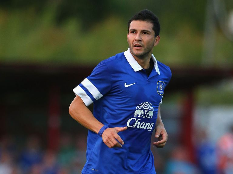 Antolin Alcaraz: Impressing Everton boss Roberto Martinez