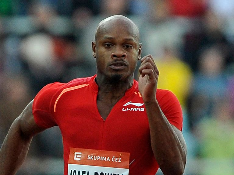 Asafa Powell: Returned a positive test earlier this year