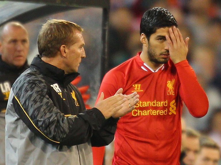 Brendan Rodgers is hoping to fix the Luis Suarez situation.
