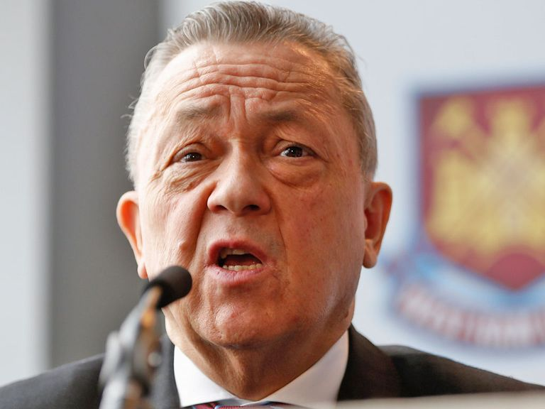 David Sullivan: Says there will only be new signings if players leave West Ham