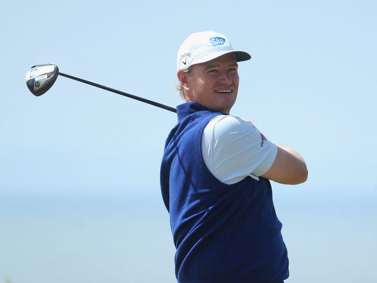 Ernie Els: Can be relied upon in majors