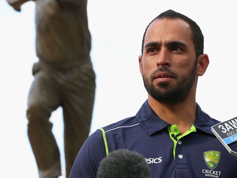 Fawad Ahmed: Won't wear a beer company's logo on his shirt
