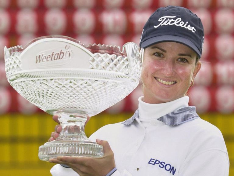Karrie Webb: Winner at Turnberry back in 2002