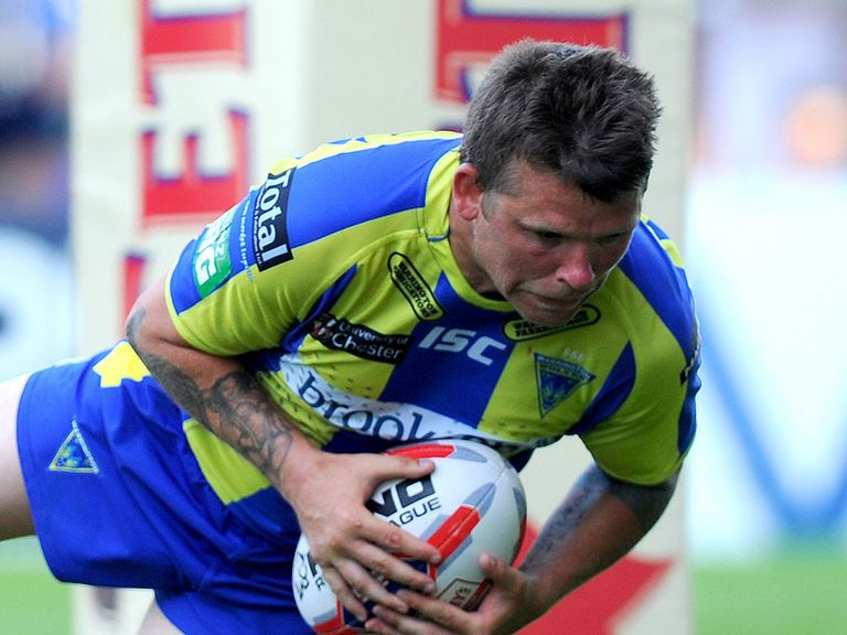 Lee Briers: Can inspire Warrington to Super League glory
