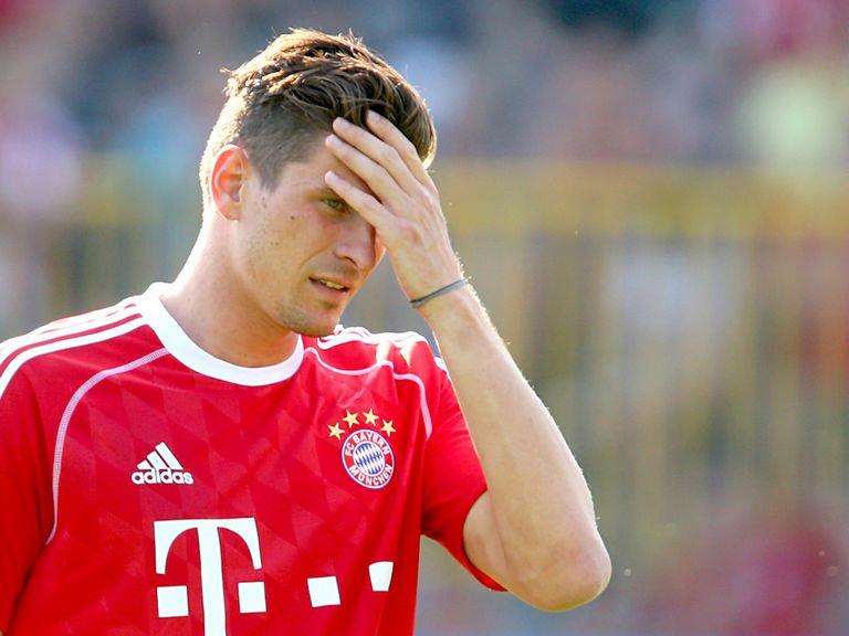 Mario Gomez: Attracted by Fiorentina's brand of football