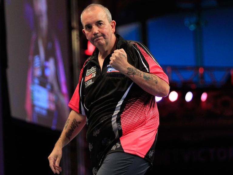 Phil Taylor: Produced a nine-dart leg in Blackpool