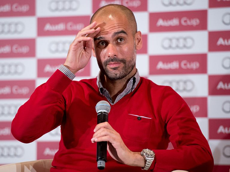 Pep Guardiola: Planning to work in England one day