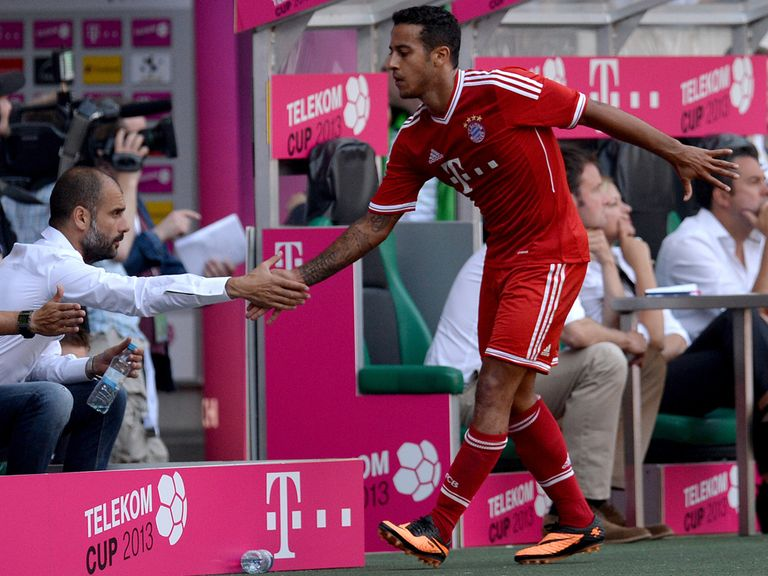 Thiago Alcantara: Joined Bayern Munich from Barcelona