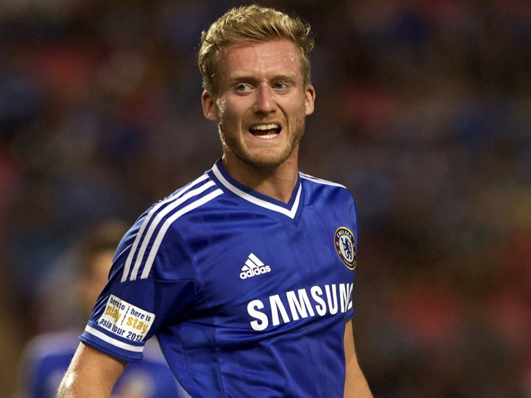 Andre Schurrle: Could make his Chelsea debut today
