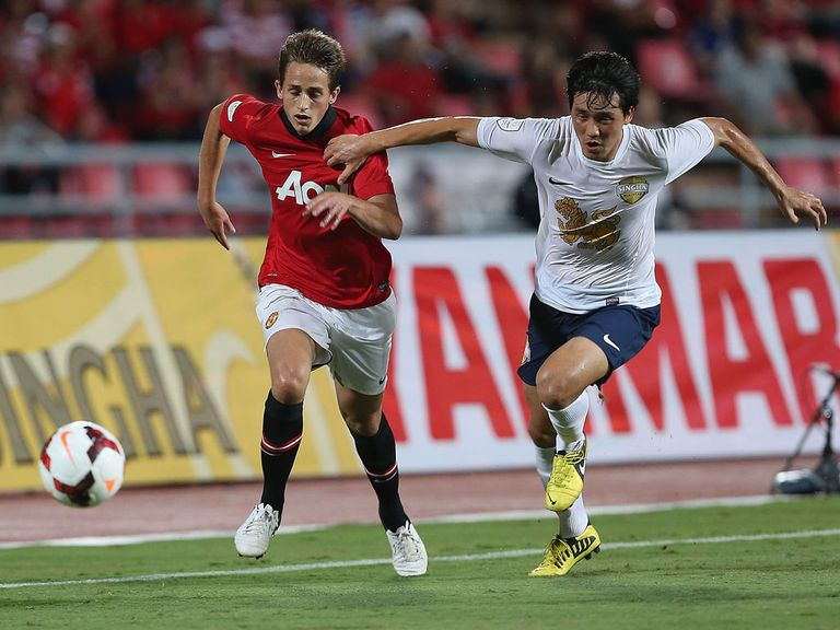Adnan Januzaj in action for Manchester United