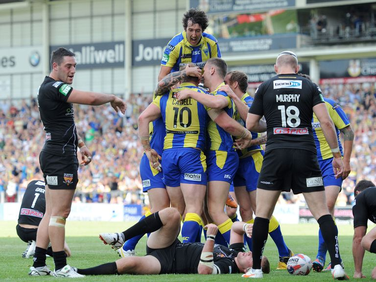 Warrington: Can celebrate again in 2014