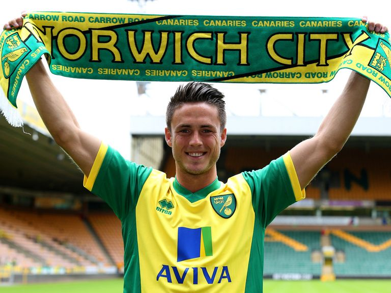 Ricky van Wolfswinkel: Backed by Norwich boss Chris Hughton