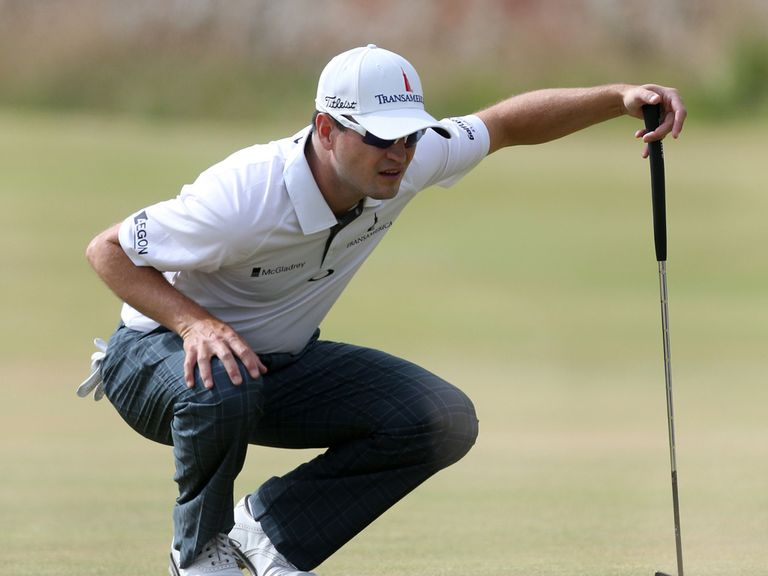 Zach Johnson: Leads the way after a 66