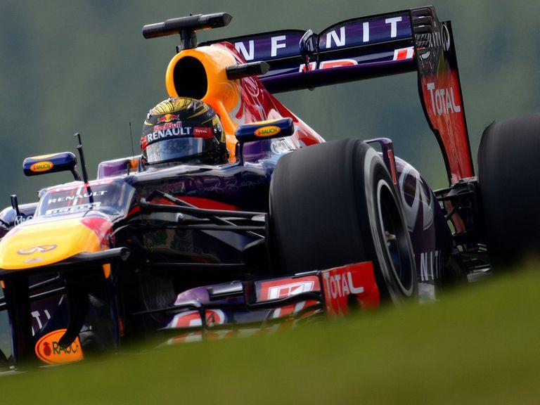 Sebastian Vettel: In fine form